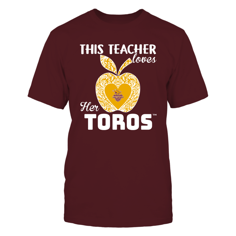 Cal State Dominguez Hills Toros - Teacher Loves - Team - Apple - Lace Front picture