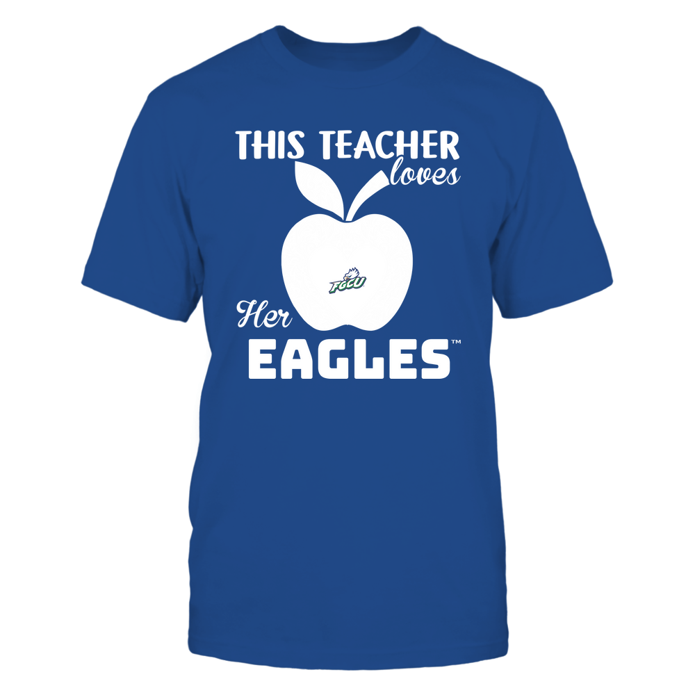 Florida Gulf Coast Eagles - Teacher Loves - Team - Apple - Lace Front picture