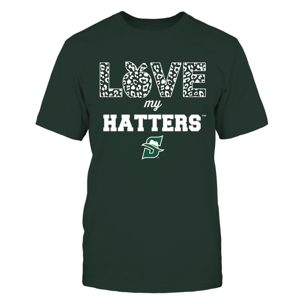 Stetson Hatters - Teacher - Love My Team - Leopard Pattern Front picture