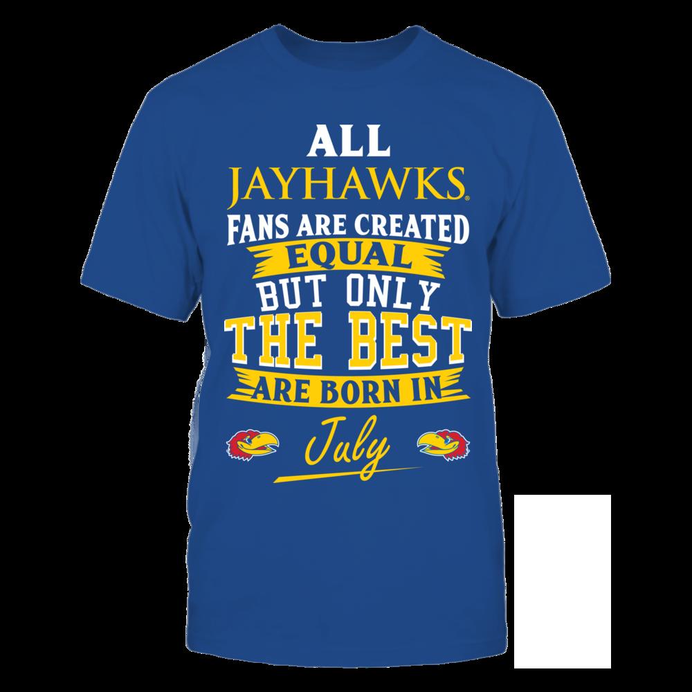 Kansas Jayhawks Fans - July Front picture