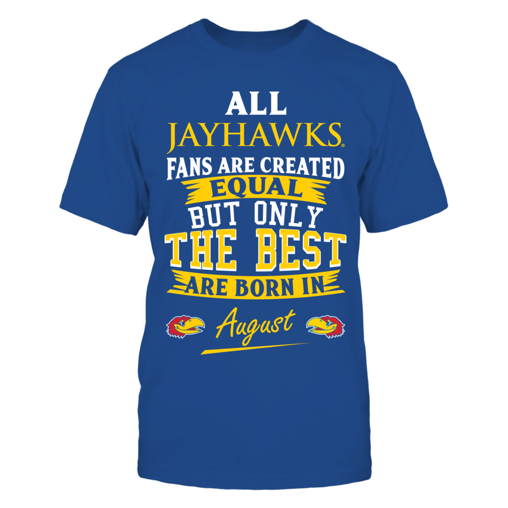 Kansas Jayhawks Fans - August Front picture