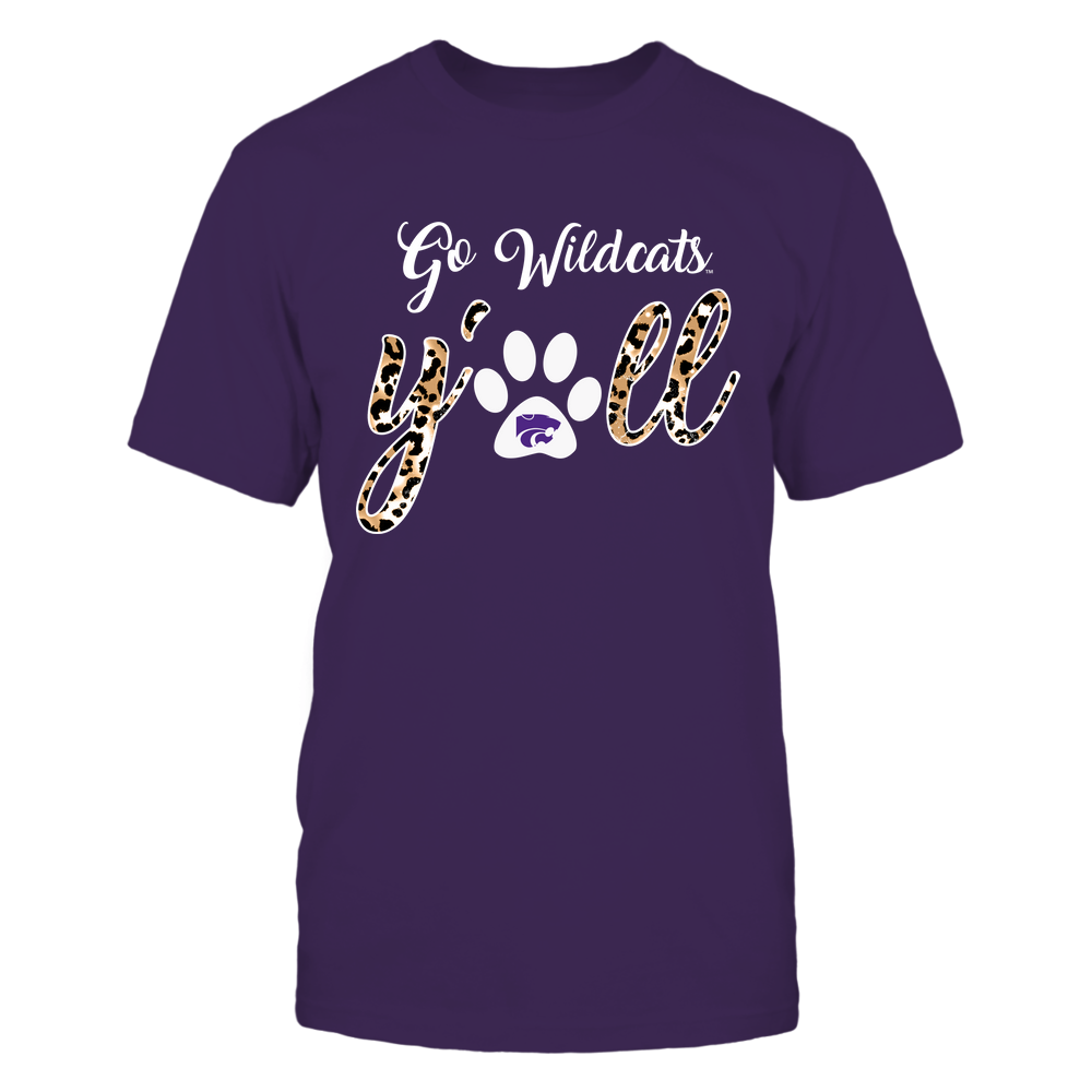 Kansas State Wildcats - Yall Paw - Leopard - IF32-IC32-DS83 Front picture