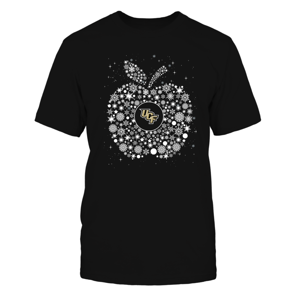 UCF Knights - Christmas - Teacher - Snowflake Apple - Team Front picture