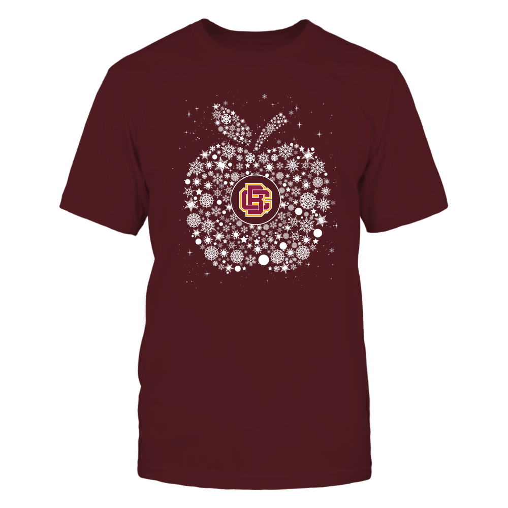 Bethune-Cookman Wildcats - Christmas - Teacher - Snowflake Apple - Team Front picture