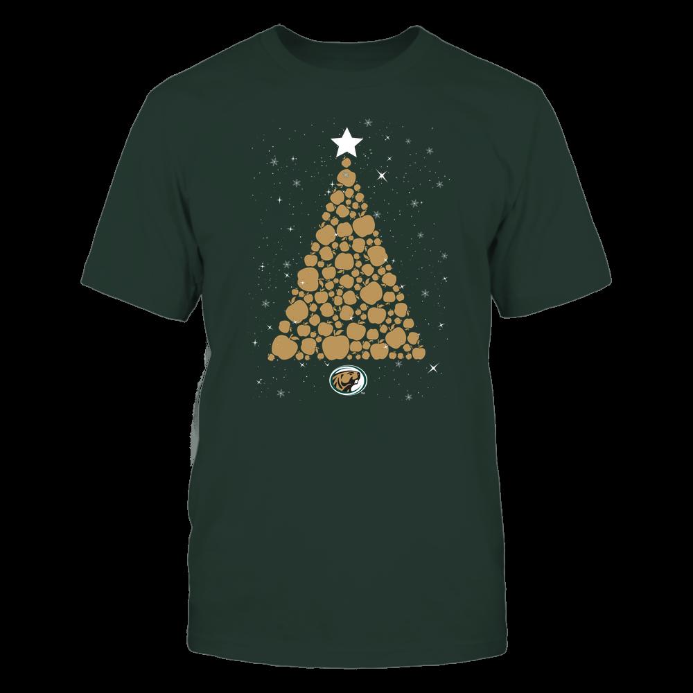 Bemidji State Beavers - Christmas - Apple Christmas Tree - Team Front picture
