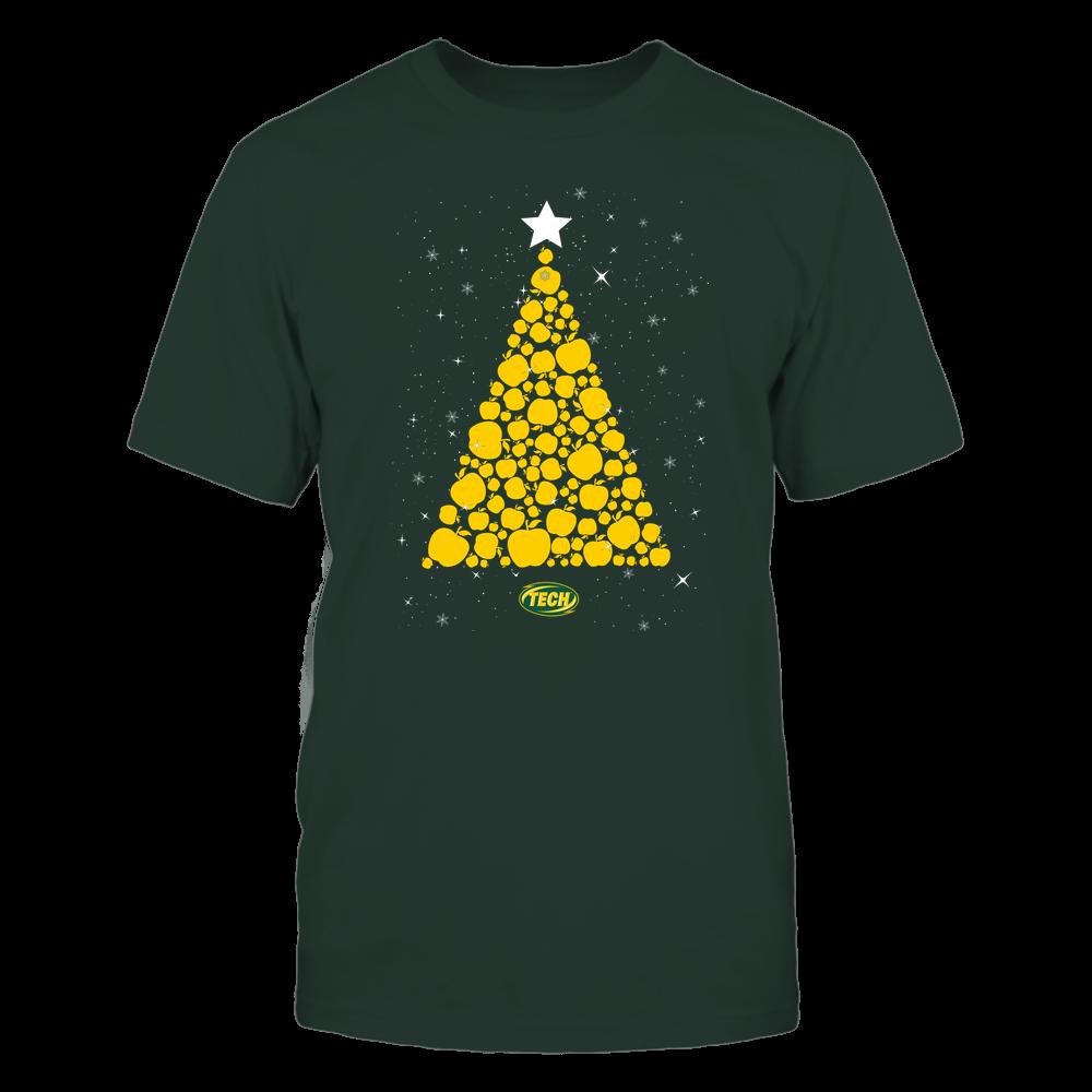 Arkansas Tech Golden Suns - Christmas - Apple Christmas Tree - Team Front picture