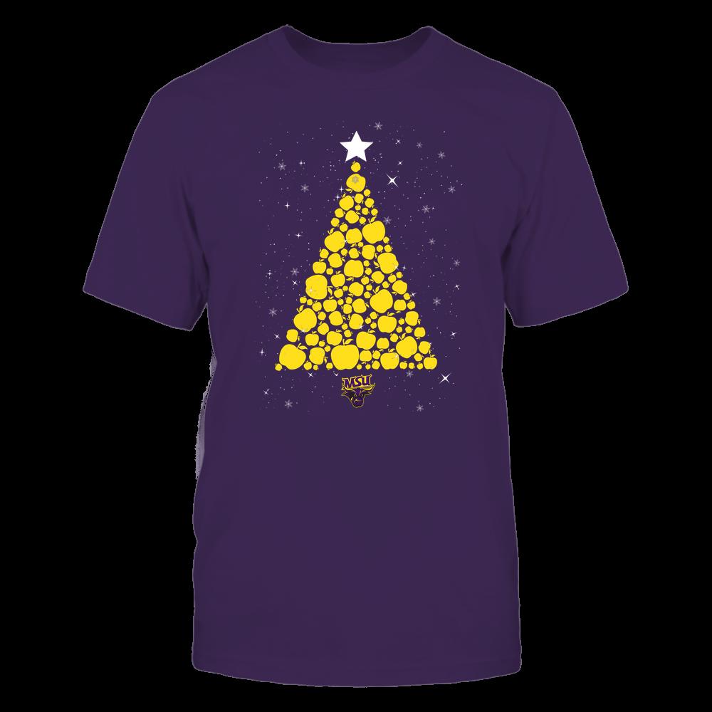 Minnesota State Mavericks - Christmas - Apple Christmas Tree - Team Front picture