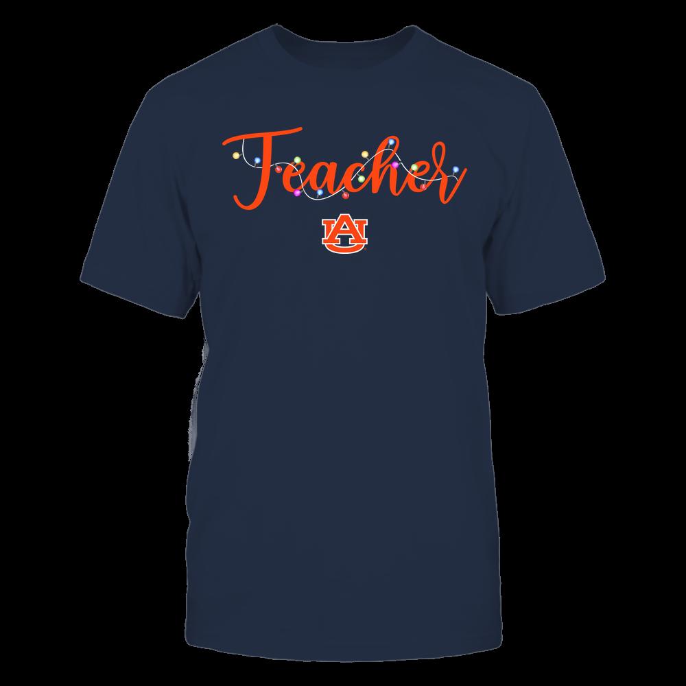 Auburn Tigers - Christmas - Teacher Christmas Lights - Team Front picture