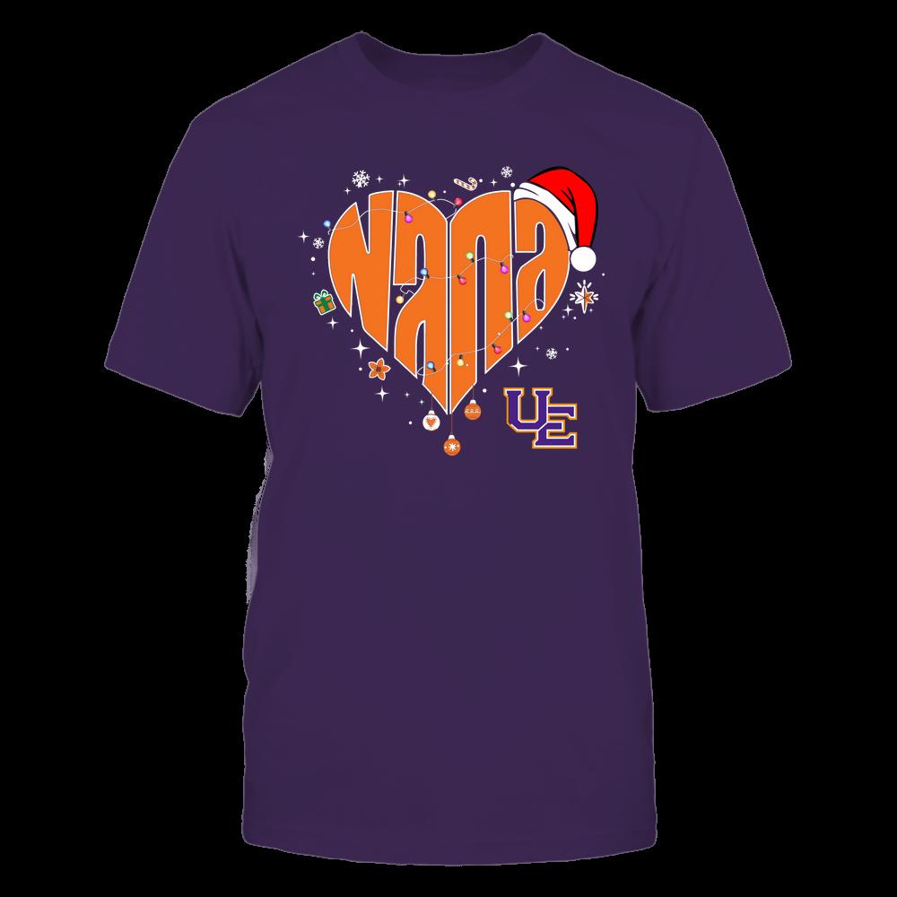 Evansville Purple Aces - Chrismas - Nana Heart Shape - Team Front picture
