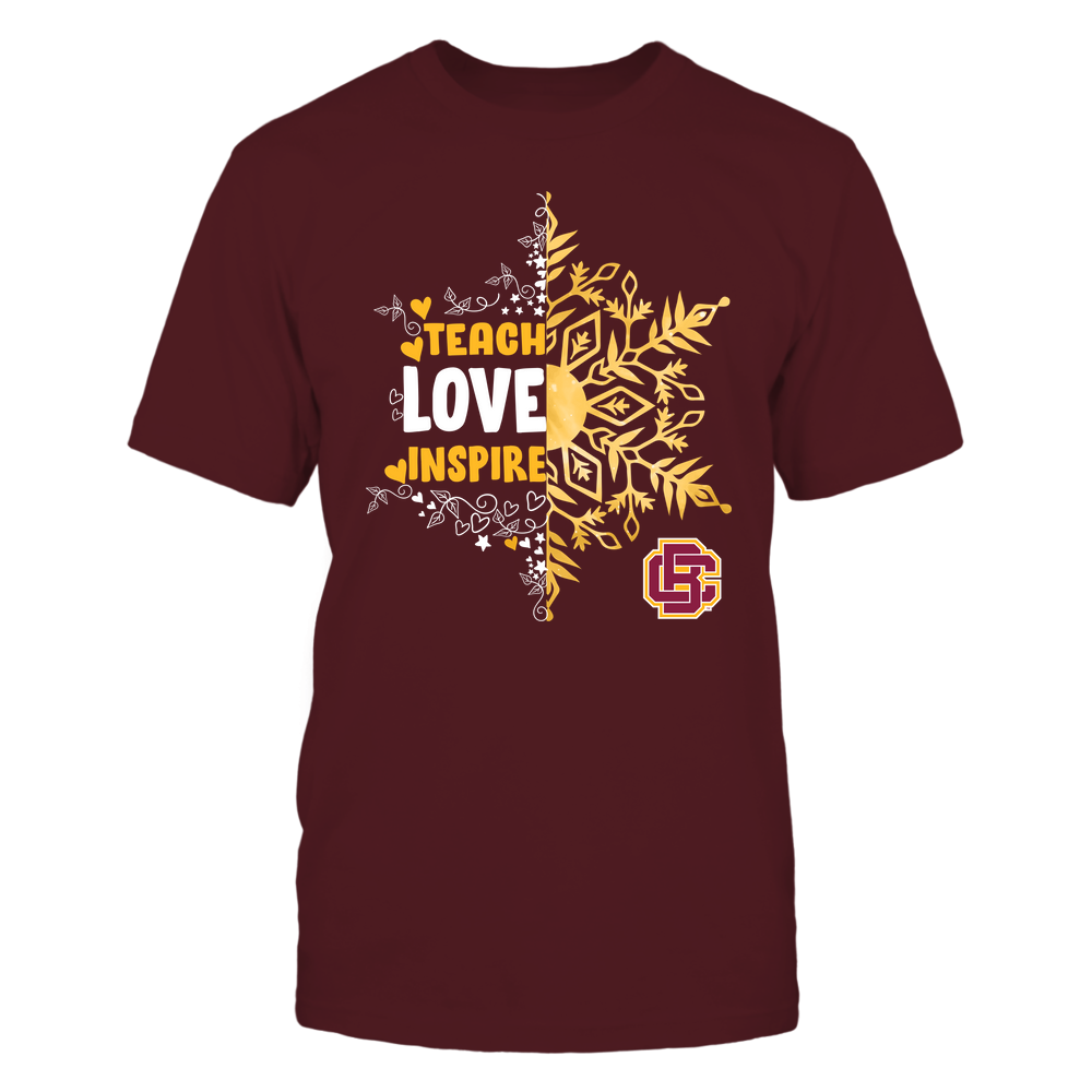 Bethune-Cookman Wildcats - Christmas - Teach Love Inspire - Half Snowflake Front picture