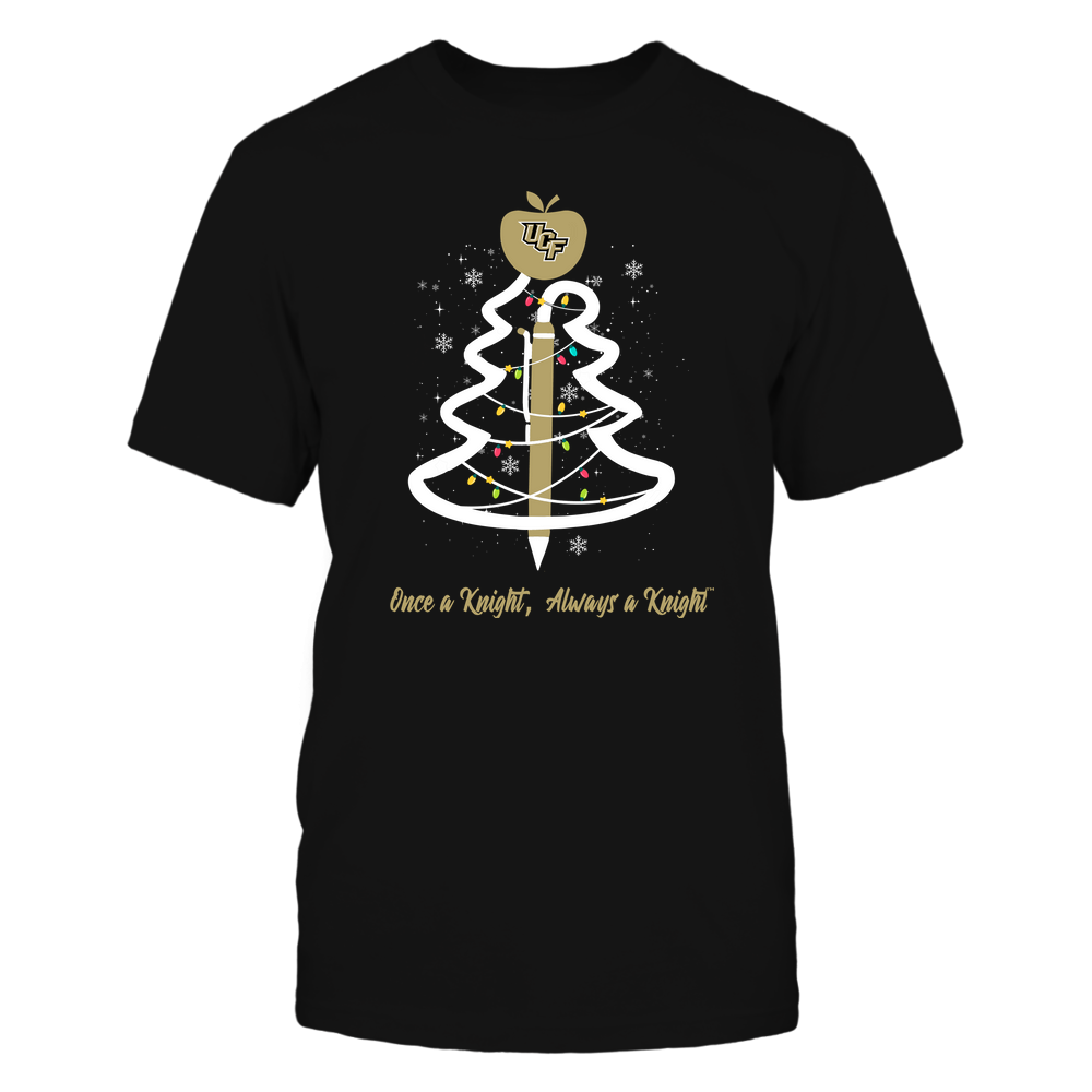 UCF Knights - Christmas - Teacher Pen Christmas Tree - Team Front picture