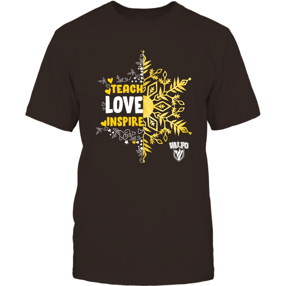 Valparaiso Crusaders - Christmas - Teach Love Inspire - Half Snowflake Front picture