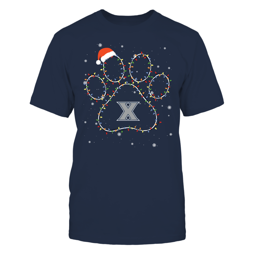 Xavier Musketeers - Christmas - Christmas Light Paw - Team Front picture