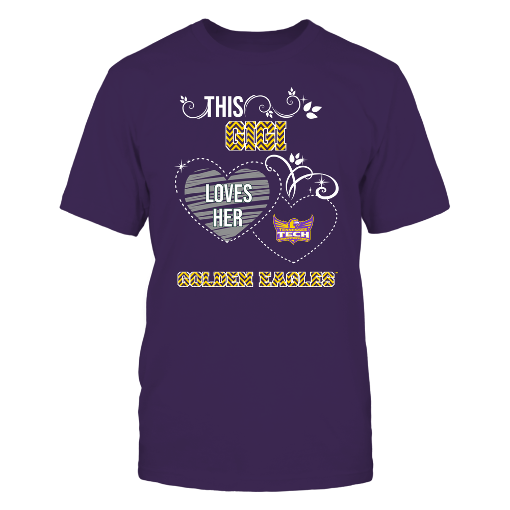 Tennessee Tech Golden Eagles - This Gigi Loves Team - Mascot - Chevron Pattern Front picture