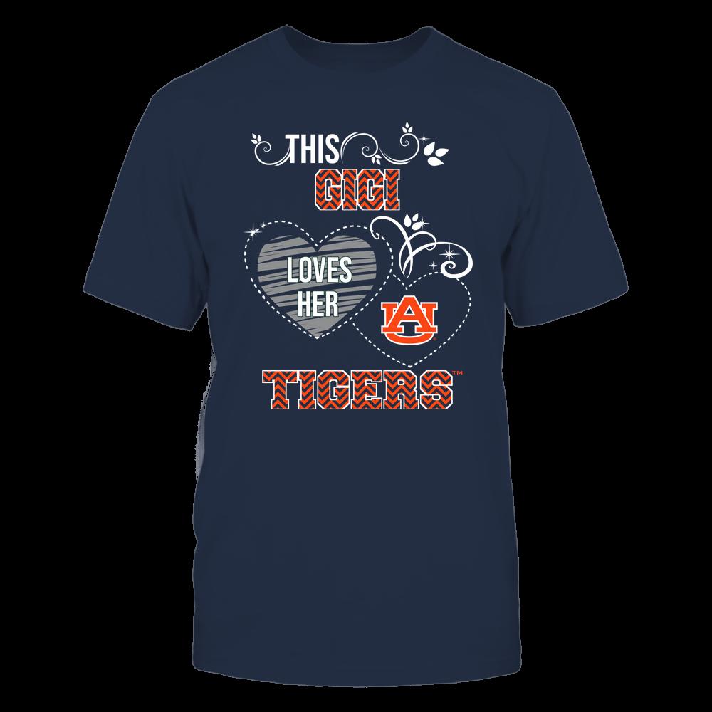 Auburn Tigers - This Gigi Loves Team - Mascot - Chevron Pattern Front picture