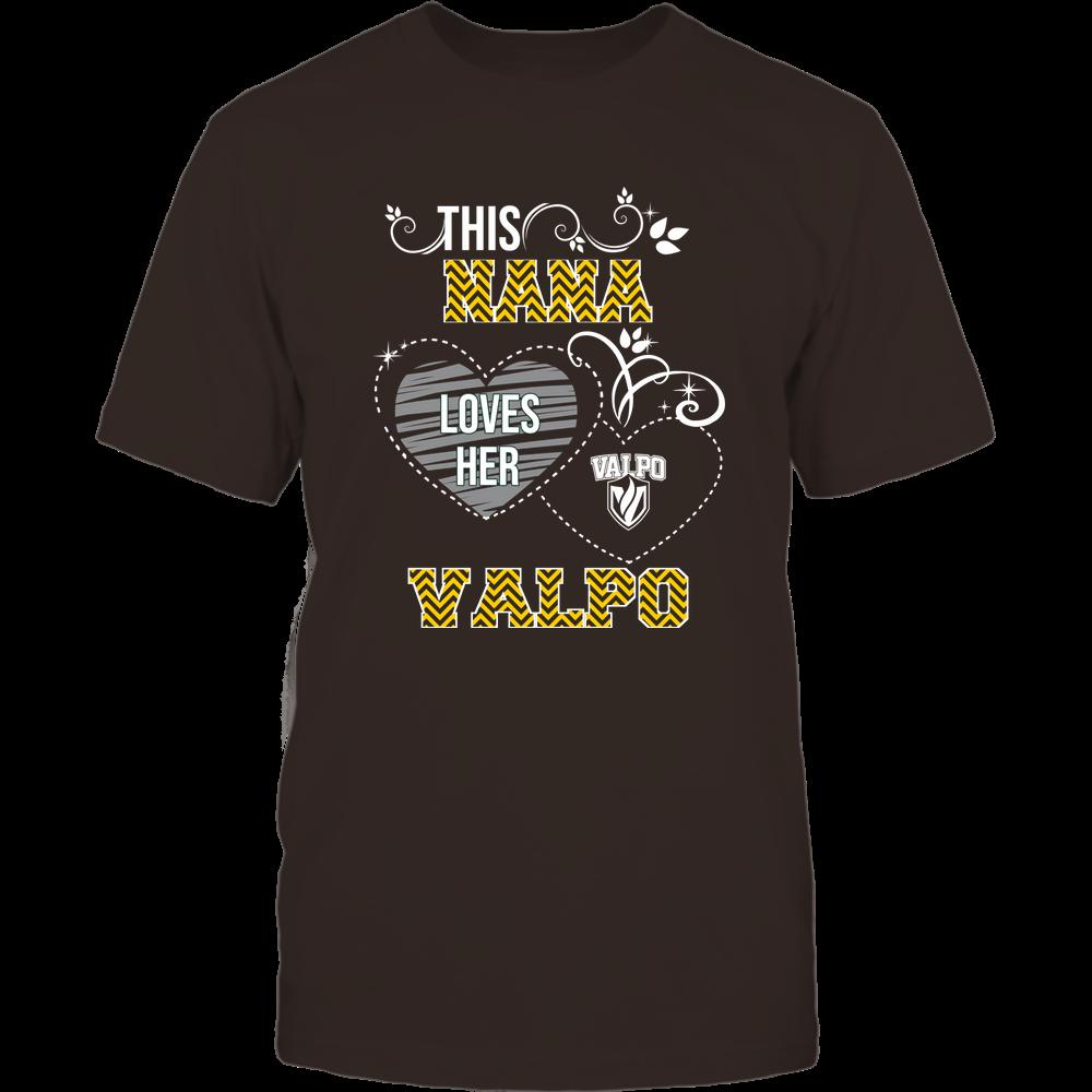 Valparaiso Crusaders - This Nana Loves Team - Mascot - Chevron Pattern Front picture