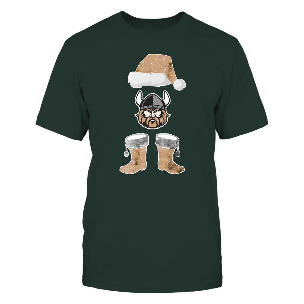 Cleveland State Vikings - Christmas - Santa Galaxy - Team Front picture