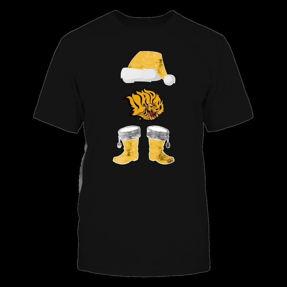 Arkansas Pine Bluff Golden Lions - Christmas - Santa Galaxy - Team Front picture