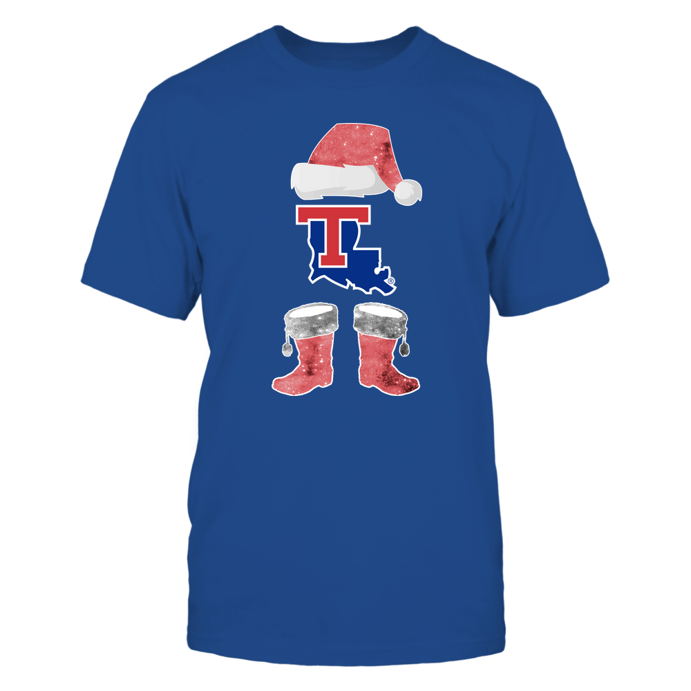 Louisiana Tech Bulldogs - Christmas - Santa Galaxy - Team Front picture