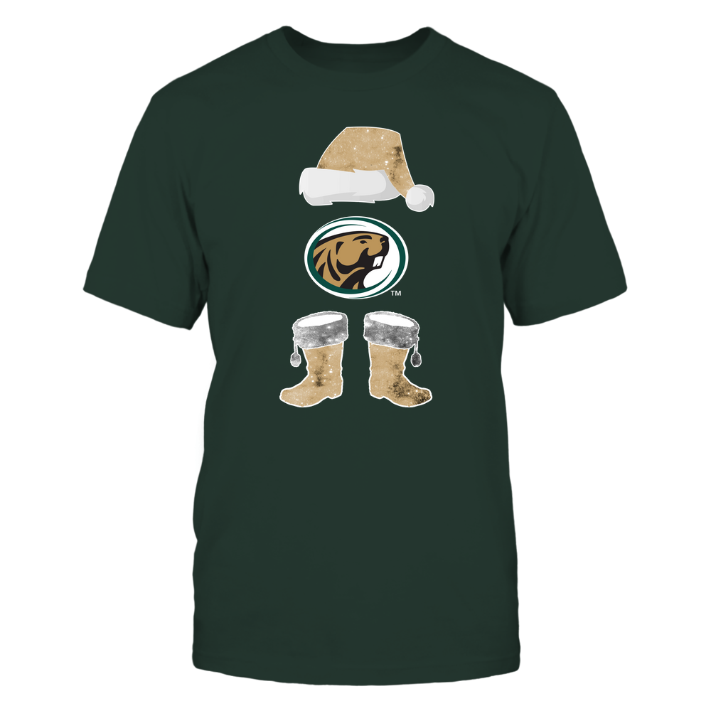 Bemidji State Beavers - Christmas - Santa Galaxy - Team Front picture