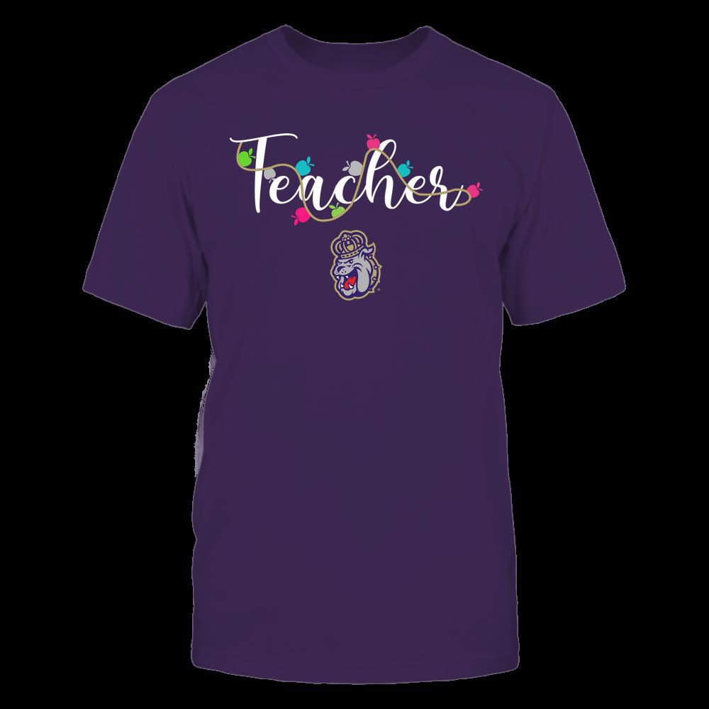 James Madison Dukes - Teacher - Teacher Color Lights - Team Front picture