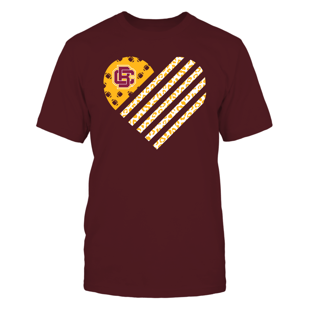 Bethune-Cookman Wildcats - Football - Leopard Flag - Heart Front picture