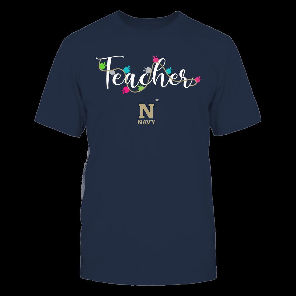 Navy Midshipmen - Teacher - Teacher Color Lights - Team Front picture