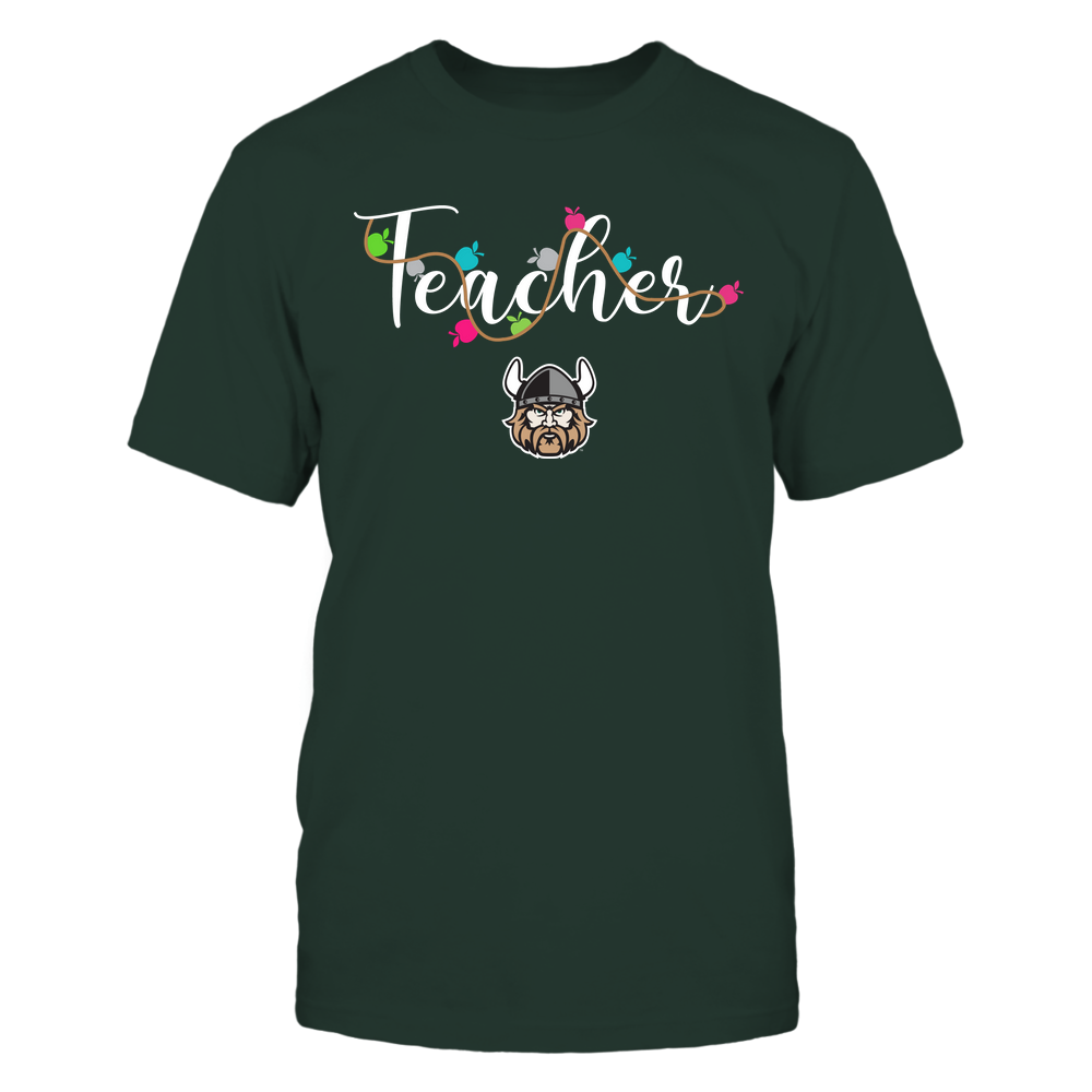 Cleveland State Vikings - Teacher - Teacher Color Lights - Team Front picture