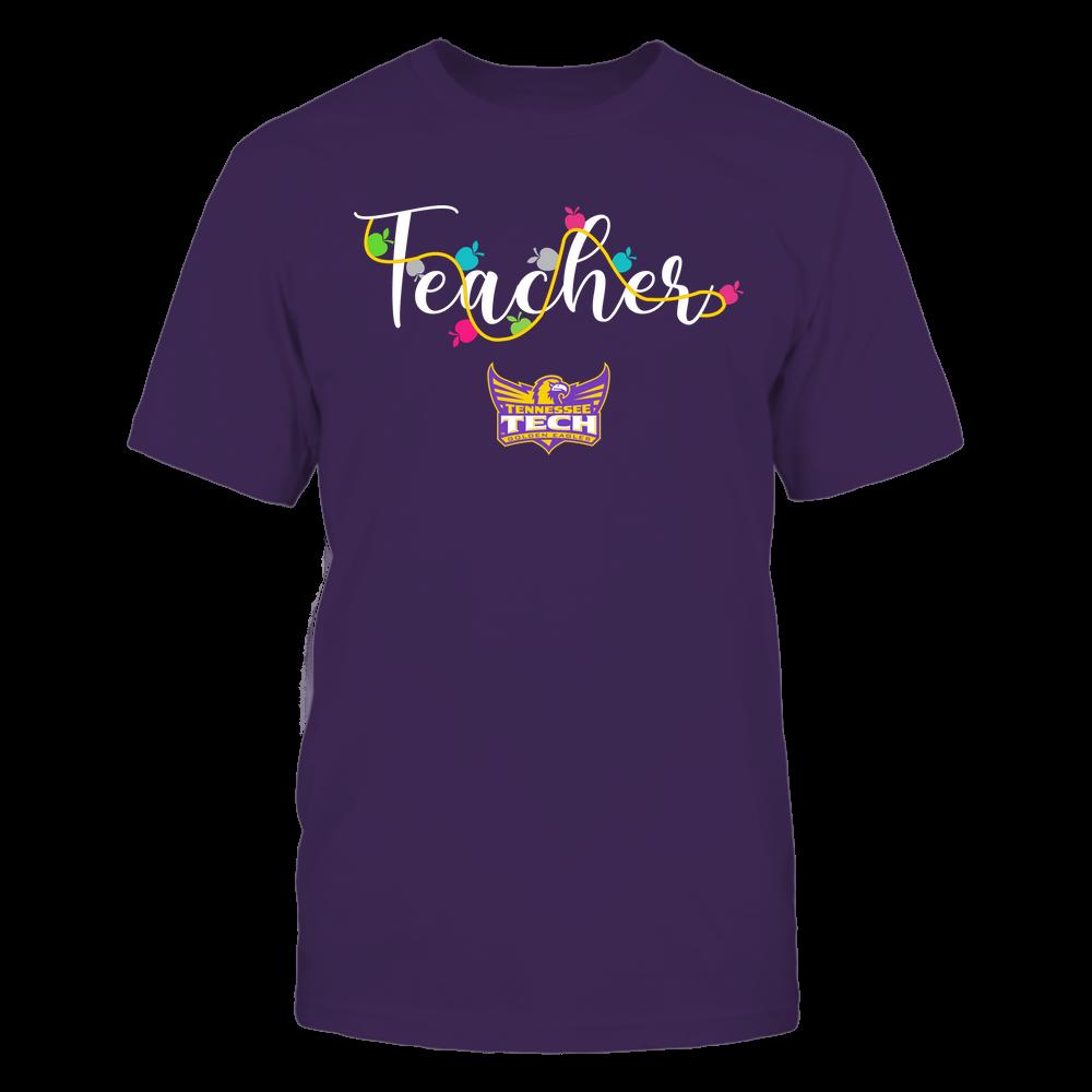 Tennessee Tech Golden Eagles - Teacher - Teacher Color Lights - Team Front picture