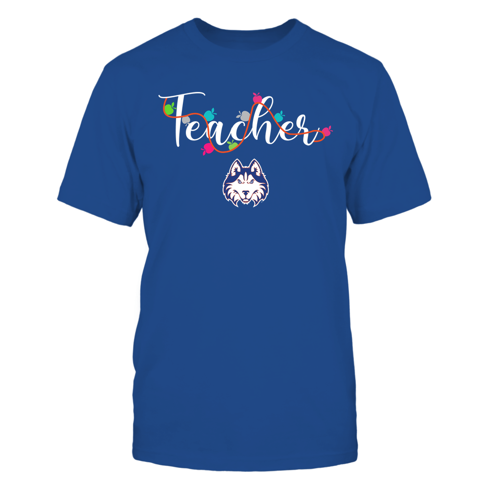 Houston Baptist Huskies - Teacher - Teacher Color Lights - Team Front picture