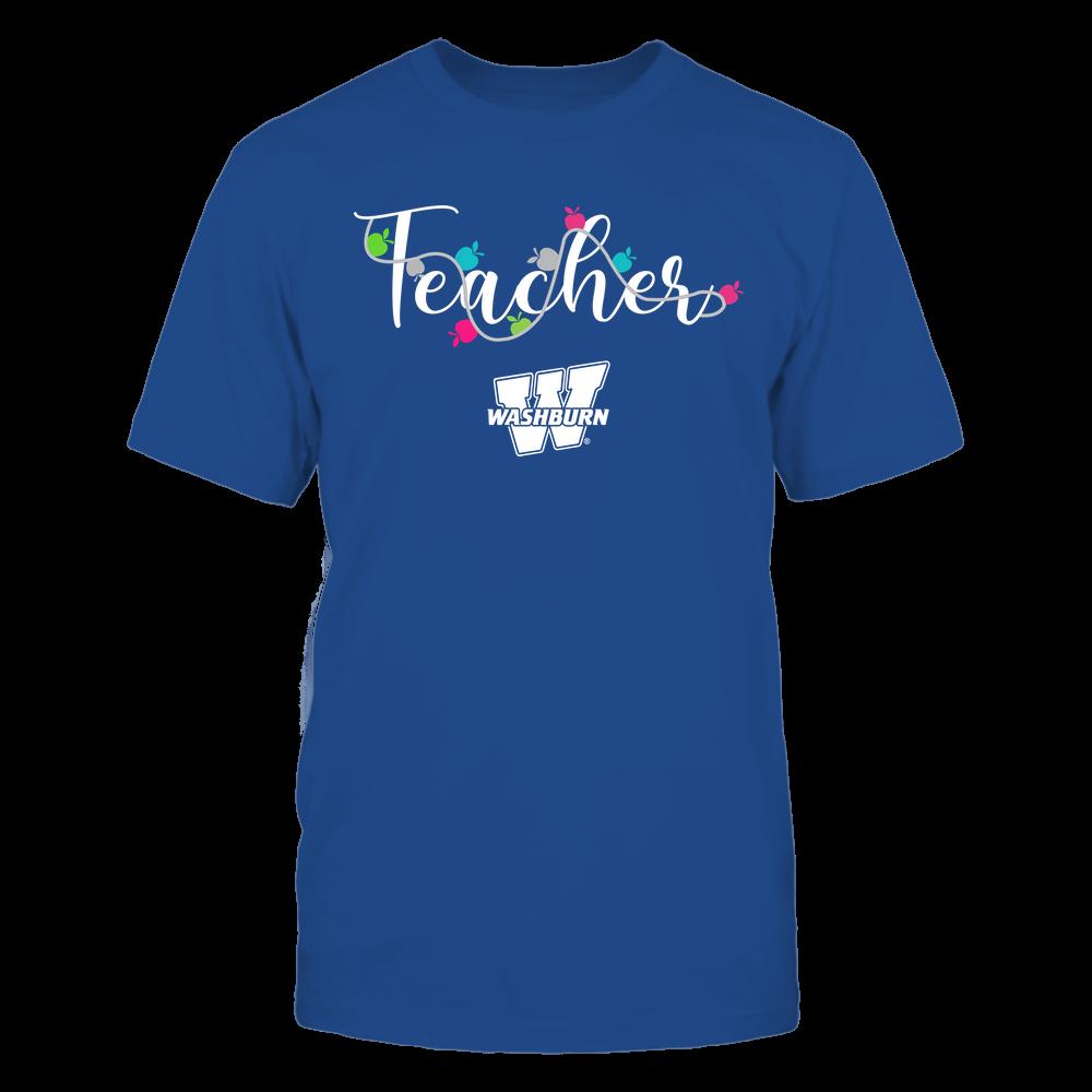 Washburn Ichabods - Teacher - Teacher Color Lights - Team Front picture