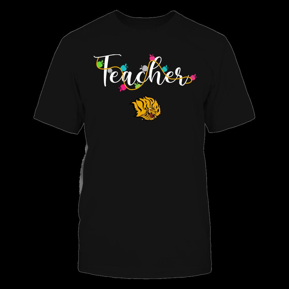 Arkansas Pine Bluff Golden Lions - Teacher - Teacher Color Lights - Team Front picture