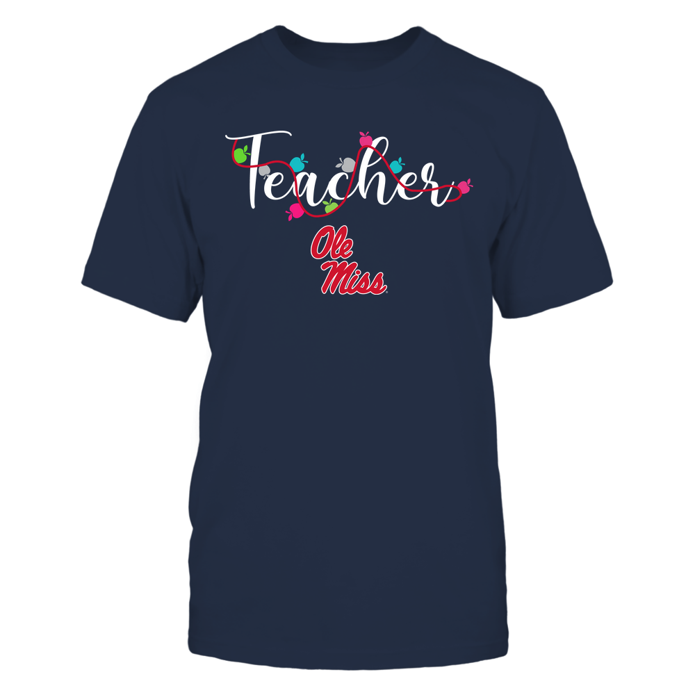 Ole Miss Rebels - Teacher - Teacher Color Lights - Team Front picture