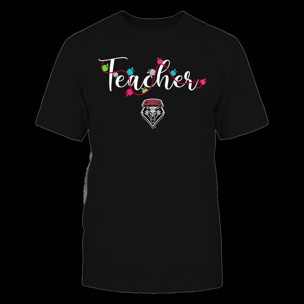 New Mexico Lobos - Teacher - Teacher Color Lights - Team Front picture