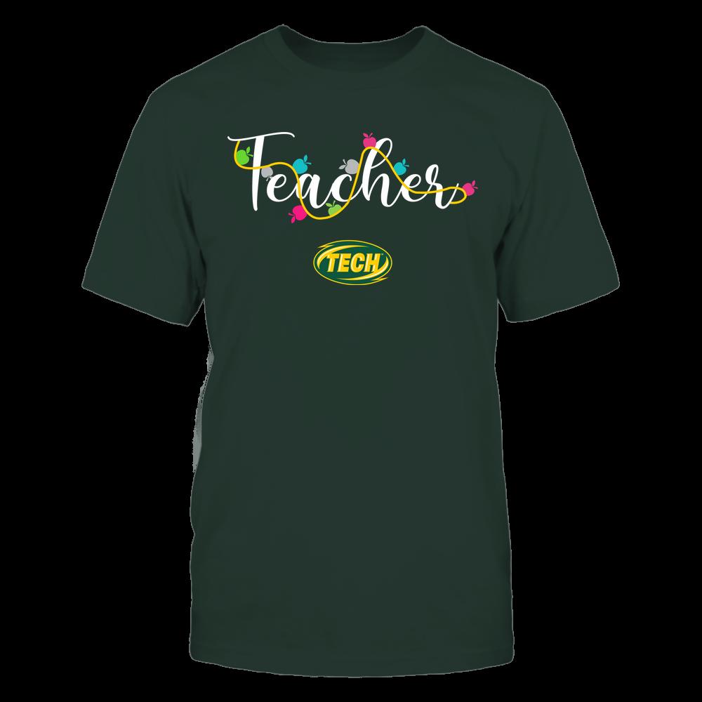 Arkansas Tech Golden Suns - Teacher - Teacher Color Lights - Team Front picture
