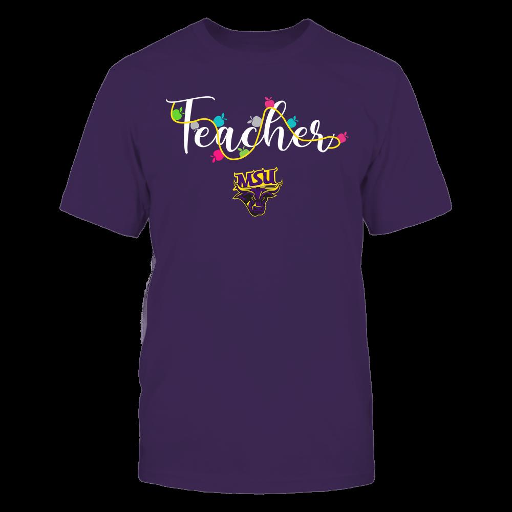 Minnesota State Mavericks - Teacher - Teacher Color Lights - Team Front picture