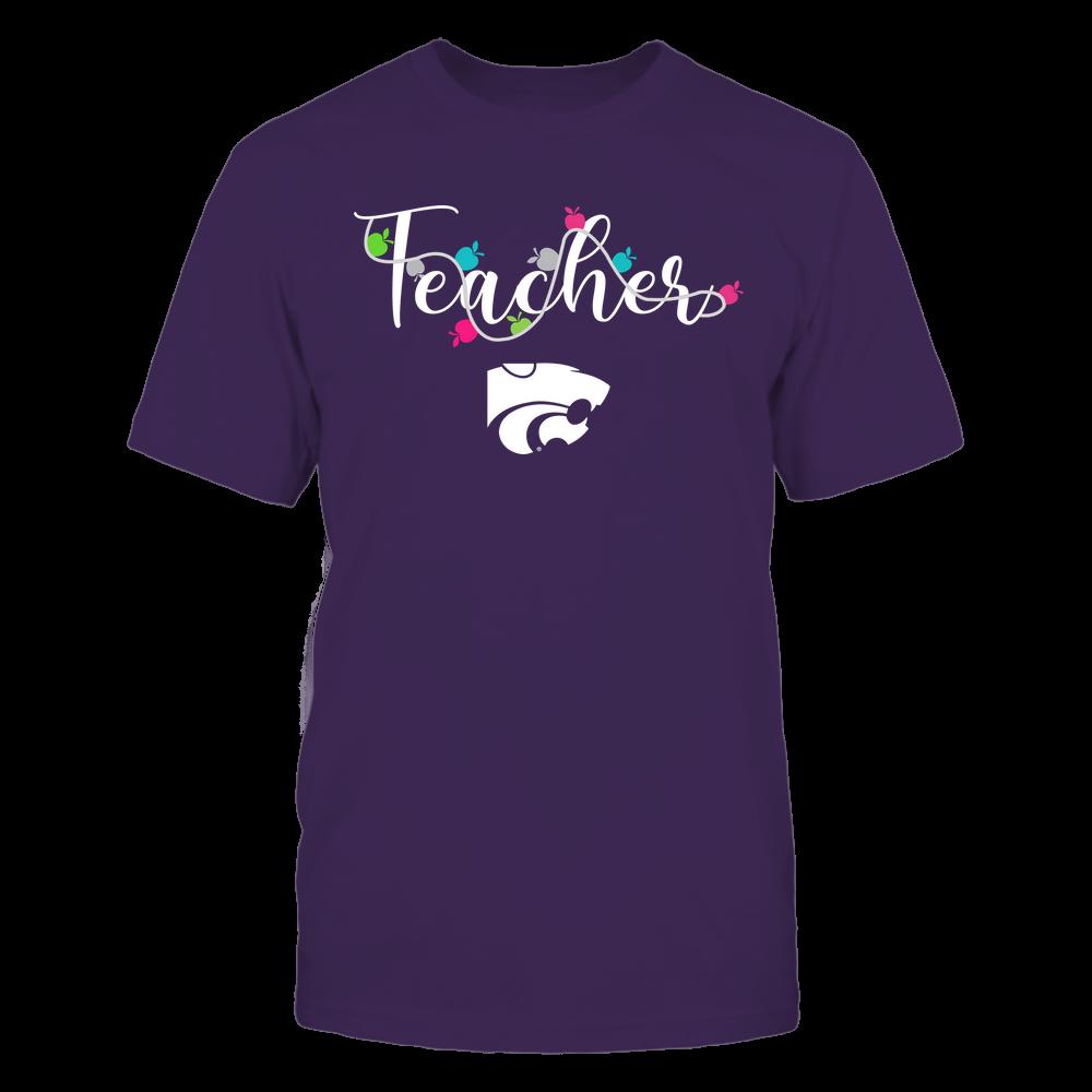 Kansas State Wildcats - Teacher - Teacher Color Lights - Team Front picture