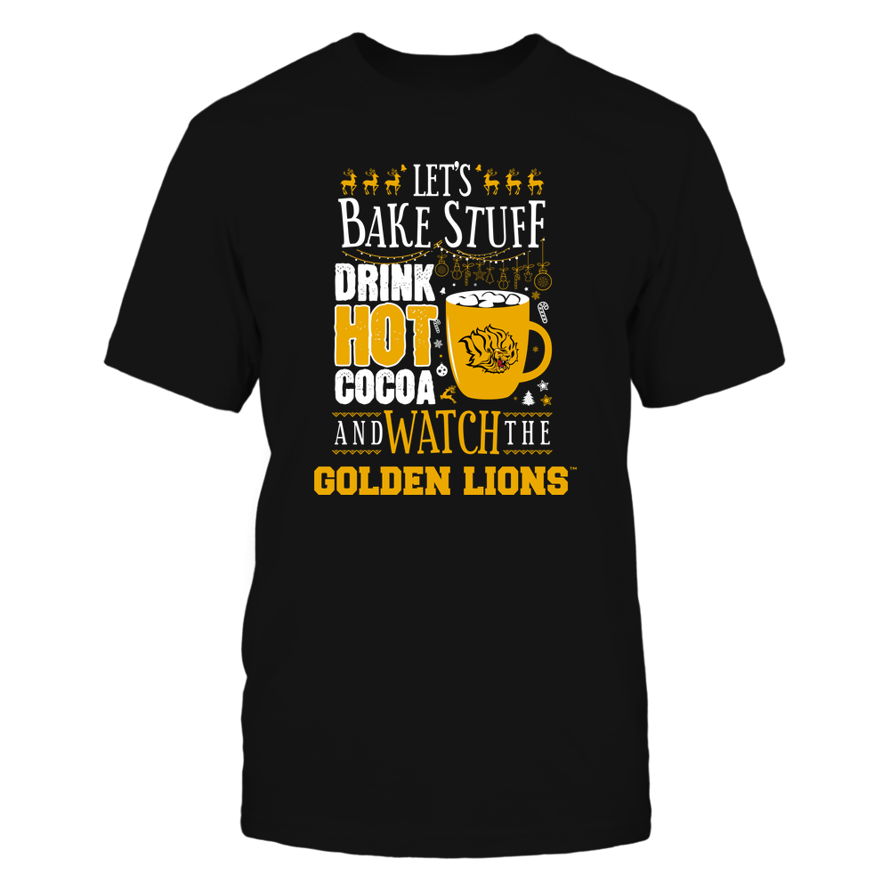 Arkansas Pine Bluff Golden Lions - Christmas - Let's Bake Stuff, Drink Hot Cocoa And Watch My Team - Team Front picture