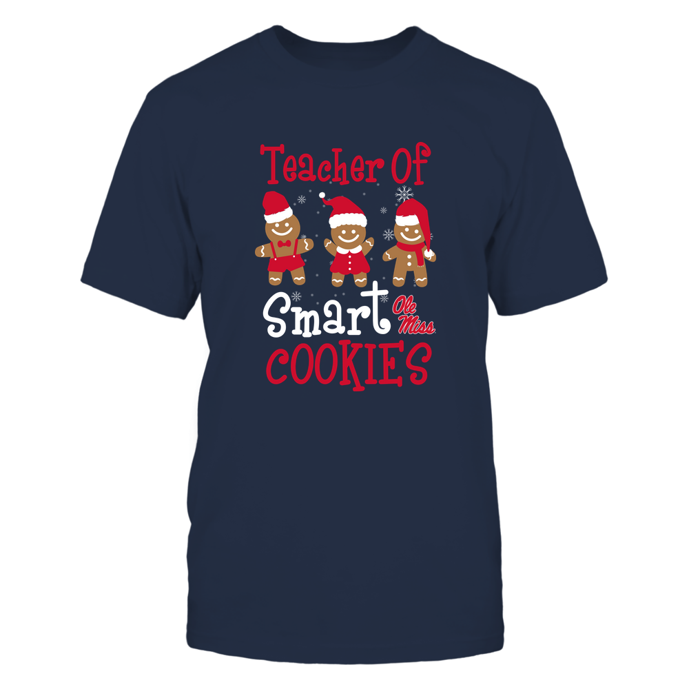 Ole Miss Rebels - Christmas - Teacher Of Smart Cookies - Team Front picture