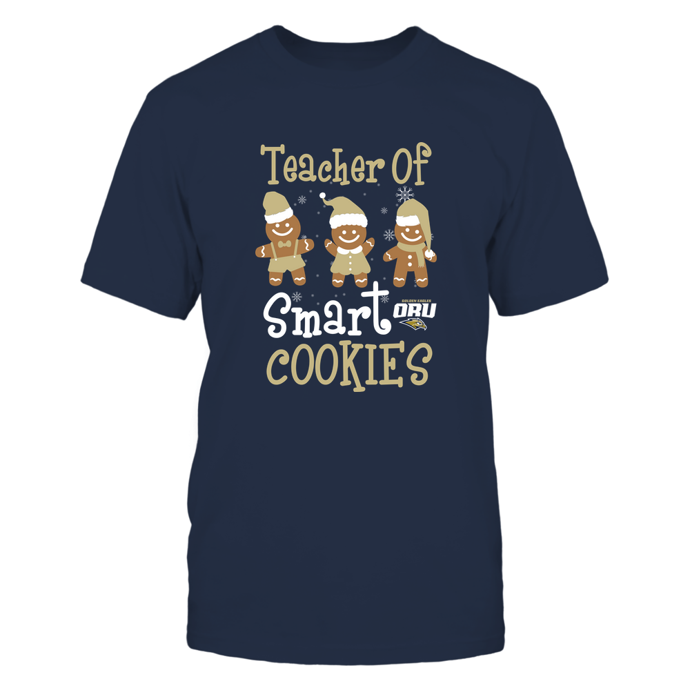 Oral Roberts Golden Eagles - Christmas - Teacher Of Smart Cookies - Team Front picture