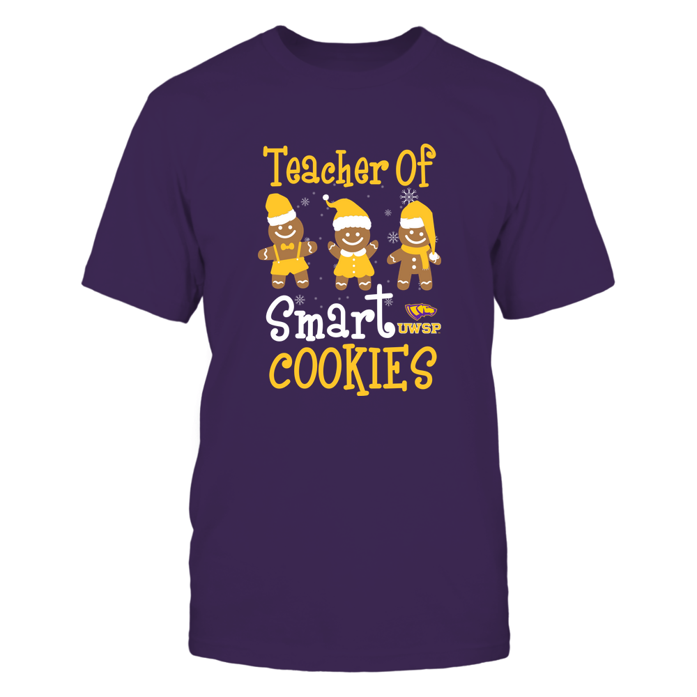 Wisconsin-Stevens Point Pointers - Christmas - Teacher Of Smart Cookies - Team Front picture