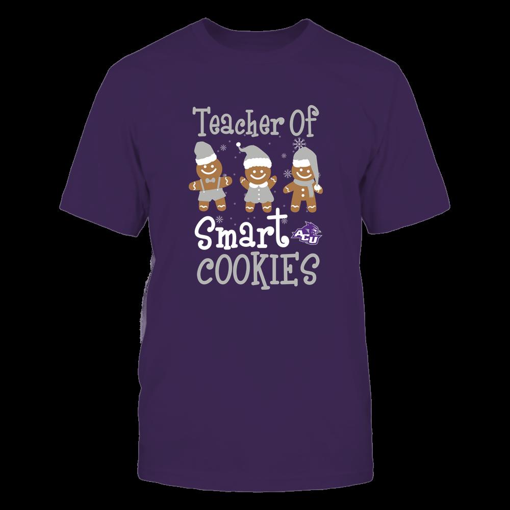 Abilene Christian Wildcats - Christmas - Teacher Of Smart Cookies - Team Front picture