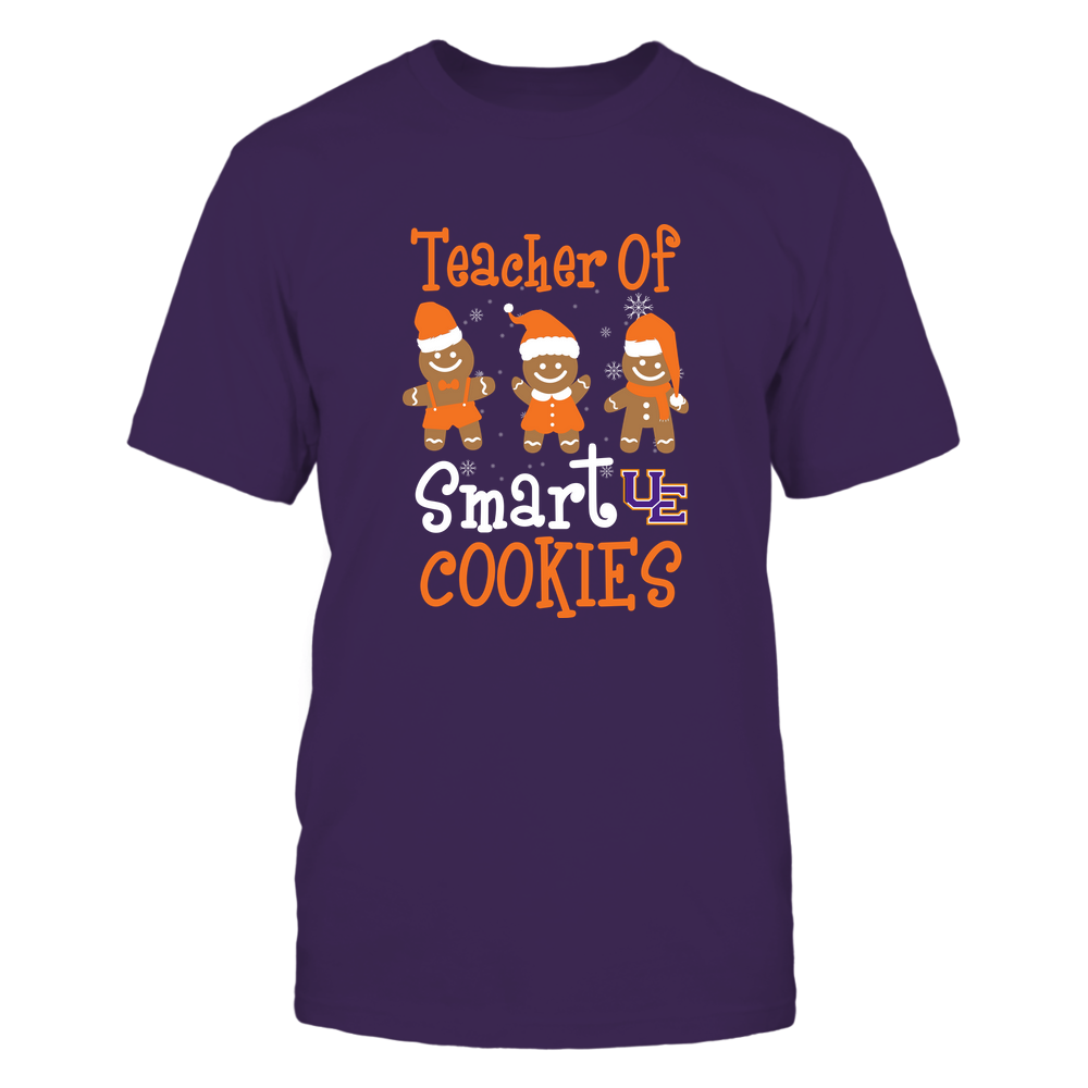 Evansville Purple Aces - Christmas - Teacher Of Smart Cookies - Team Front picture