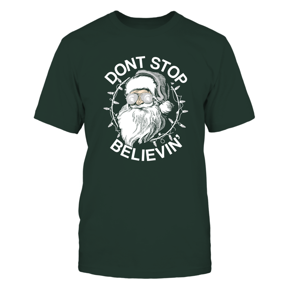 Michigan State Spartans - Christmas - Don't Stop Believin' - Team Front picture
