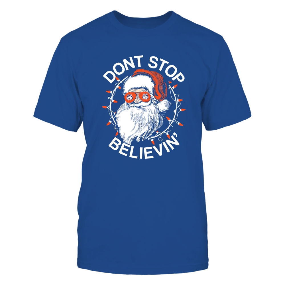 Houston Baptist Huskies - Christmas - Don't Stop Believin' - Team Front picture