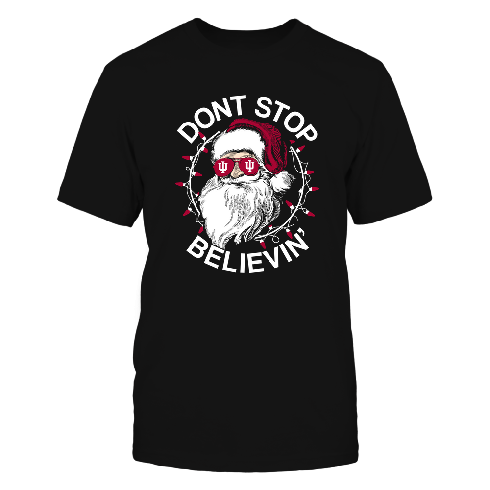 Indiana Hoosiers - Christmas - Don't Stop Believin' - Team Front picture
