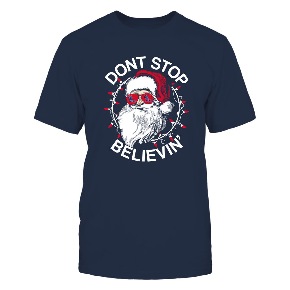 Ole Miss Rebels - Christmas - Don't Stop Believin' - Team Front picture