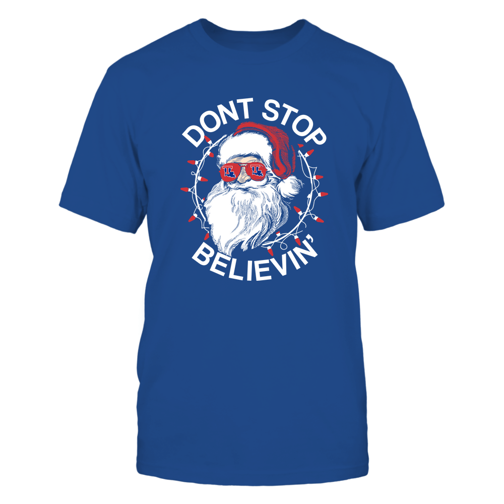 Louisiana Tech Bulldogs - Christmas - Don't Stop Believin' - Team Front picture