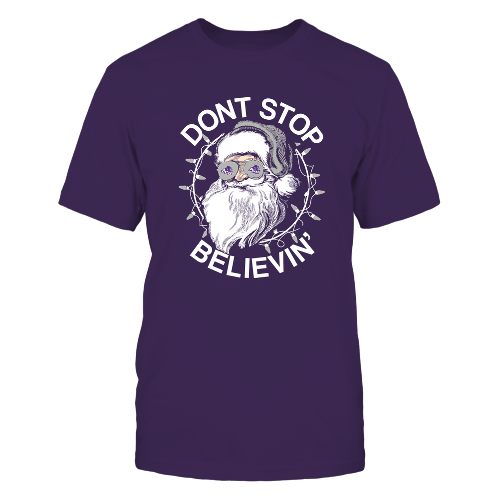 Abilene Christian Wildcats - Christmas - Don't Stop Believin' - Team Front picture