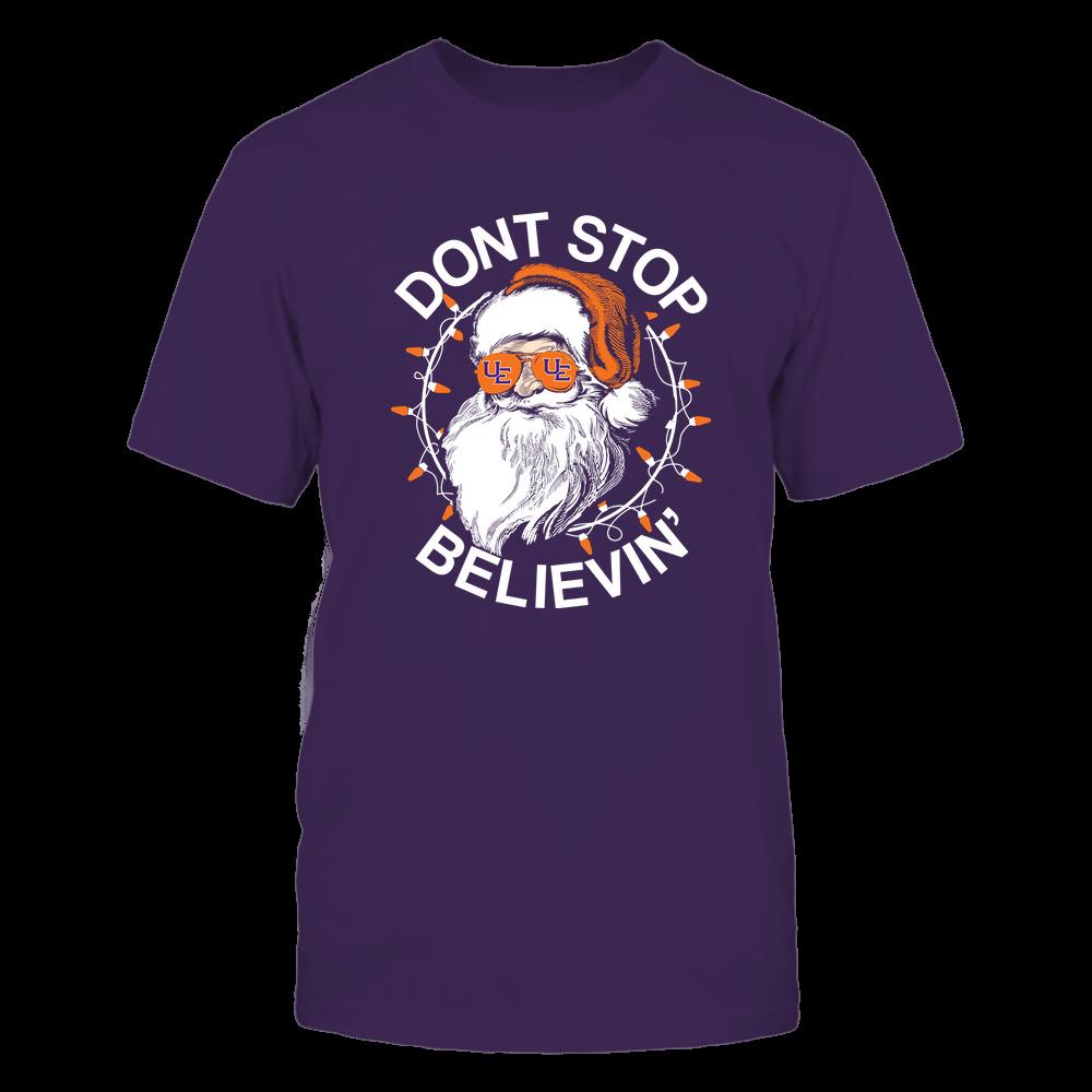 Evansville Purple Aces - Christmas - Don't Stop Believin' - Team Front picture